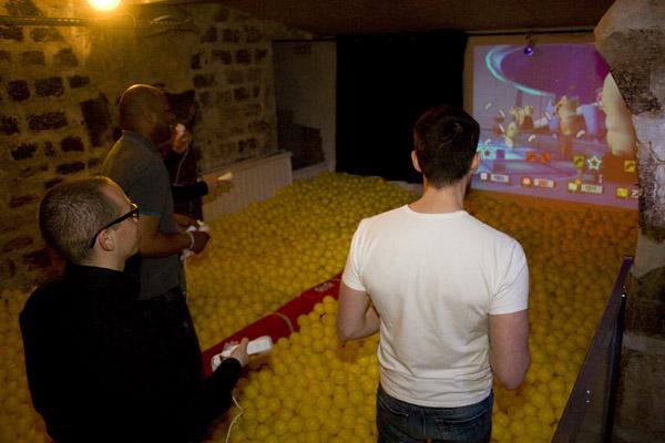 Vidéo games sur écran géant